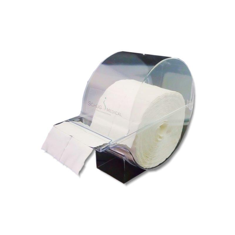 Spender für Zellstofftupfer (500 Stück)